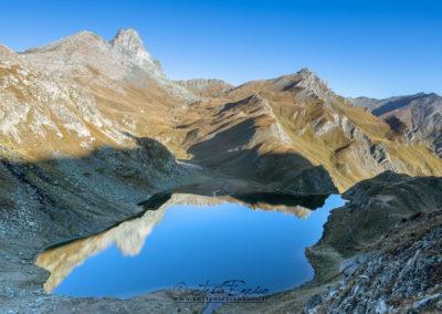 Alba su Roc La Niera e Lago Bleu