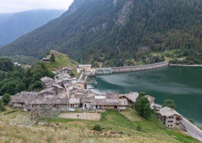 Lago artificiale di Pontechianale