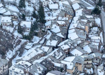 Casteldelfino e la neve