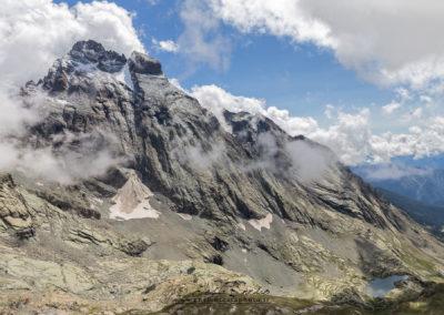 IL Monviso e Vallanta dalla cima della Losetta
