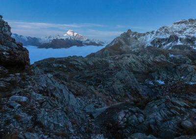 Percorrendo l'alta Valle Varaita in notturna
