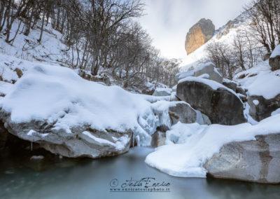 Rocca Senghi in inverno
