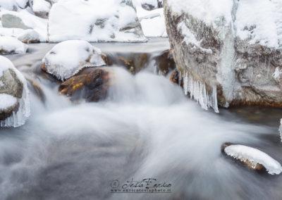 Neve e ghiaccio in Varaita