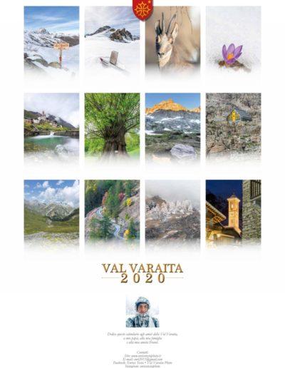 Calendario Valle Varaita 2020
